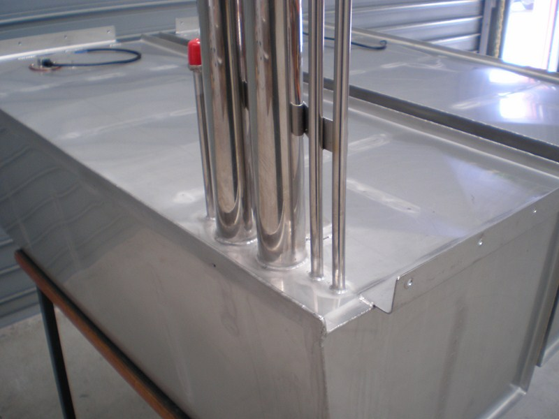Stainless Steel Boat Fuel Tanks 1