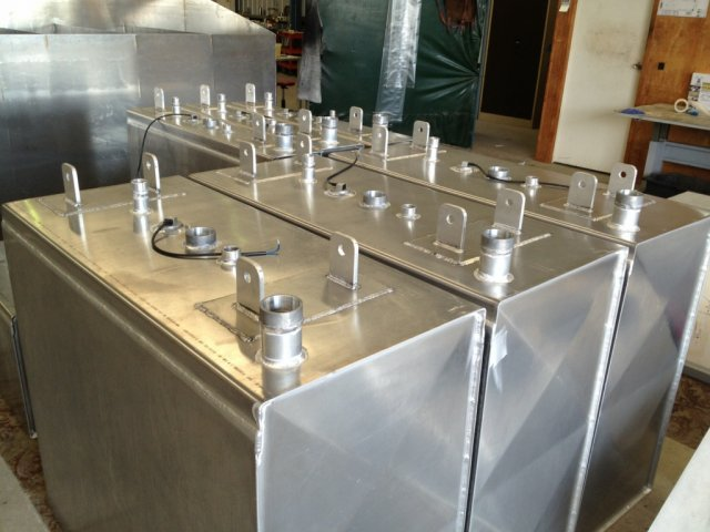 Aluminium & Stainless Marine Fuel Tanks